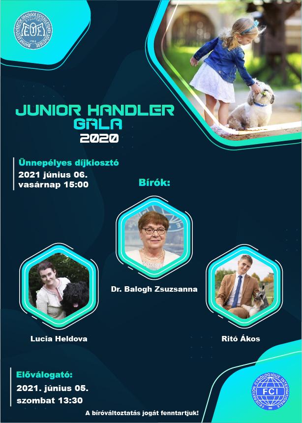 Junior handler Gála